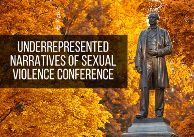 Underrepresented Narratives of Sexual Violence Conference