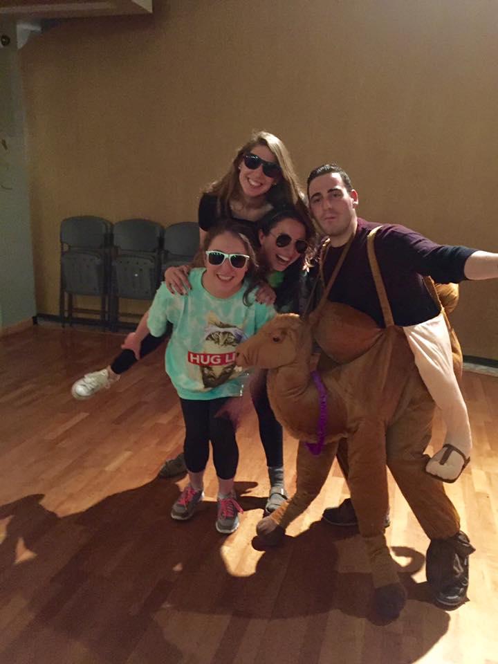 Mardi at the ProBo Purim Lip Sync Battle