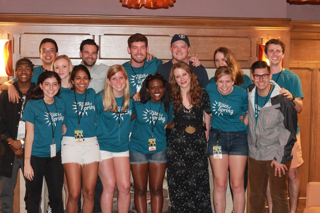 The Lone Bellow and the Music Group