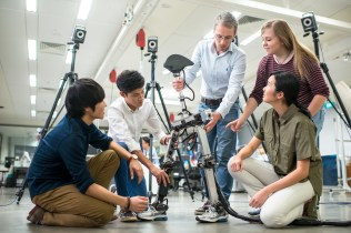 Students at Singapore University of Technology and Design