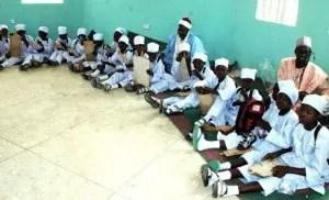 Image result for Ganduje seeks reform of Almajirin system of education