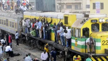 Lagos, Yaba, railway, Nigeria