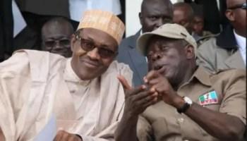Breaking: Buhari, Oshiomhole meet in Aso Rock