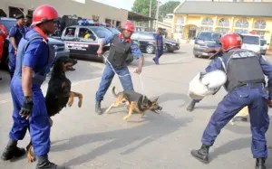 NSCDC parades 4 suspected cable vandals in Ebonyi
