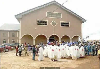 Image result for catholic church in Nigeria