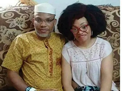 Nnamdi Kanu Wife Uchechi Okwu Kanu