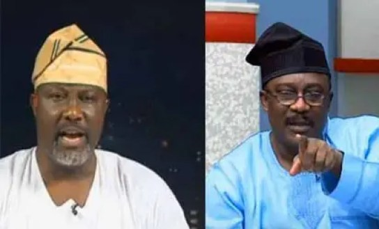 Image result for images of Smart Adeyemi and Dino Melaye
