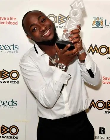 "Davido wins ""Best African Act"" at MOBO Awards - Vanguard News"
