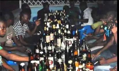 Alcohol, Zaria