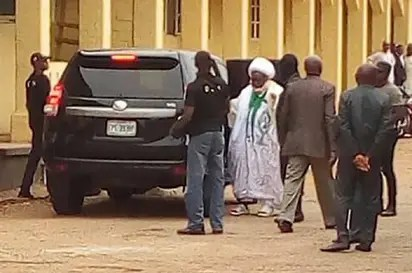Image result for El-zakzaky in court