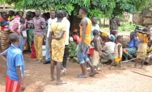 The Cameroonian refugees