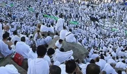 pilgrims  arafat
