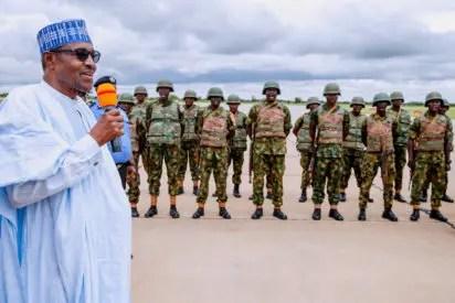 Troops kill 11 Boko Haram terrorists, nab 6 Commanders in Borno