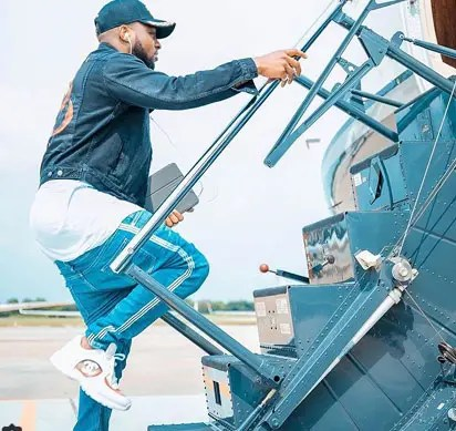DAVIDO: The luxury lifestyle of a private jet owner