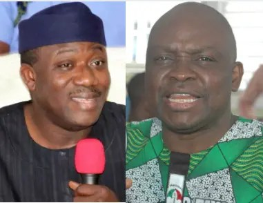 Fayose's govt left N57bn unpaid workers' salaries, pension arrears, says Fayemi