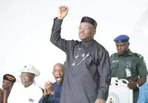 Breaking: Gov Emmanuel defeats Ekere at  A-Ibom guber tribunal