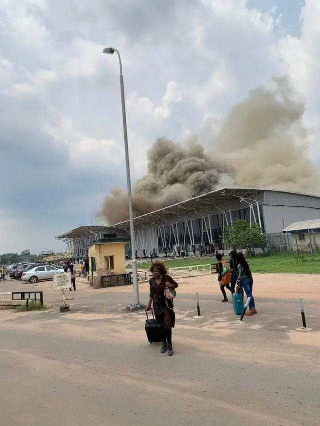 Imo Airport fire: Flight operations resume - Vanguard News