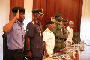 A discourse on the security chiefs in Nigeria