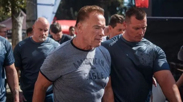 Schwarzenegger attacked at S.Africa sports event