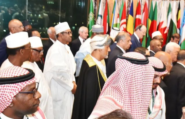 President Muhammadu Buhari at the 14Th Islamic Summit in Makkah Saudi Arabia