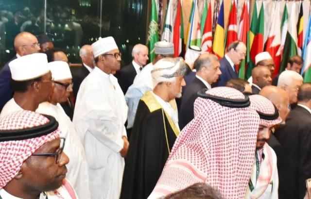 Image result for buhari oic