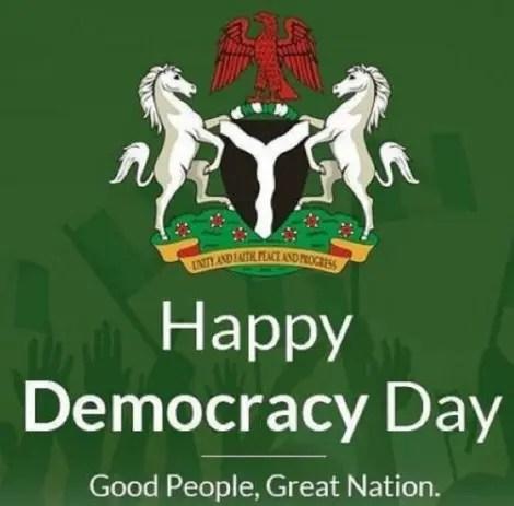 Democracy Day celebration