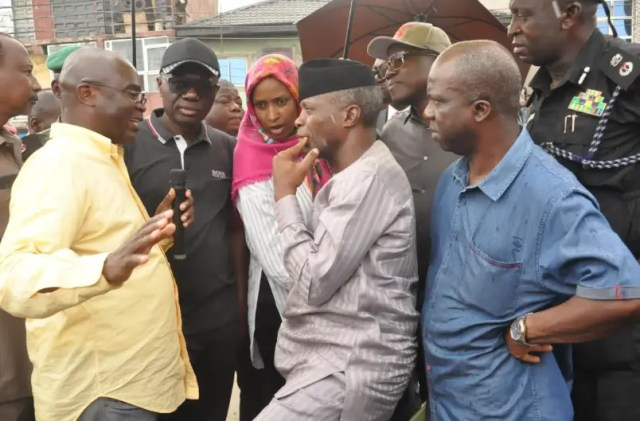 In the next couple of days  Apapa gridlock will be resolved – Osinbajo