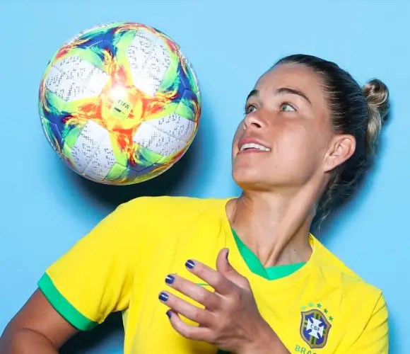 Tamires the only mother in Brazil's 23-player squad