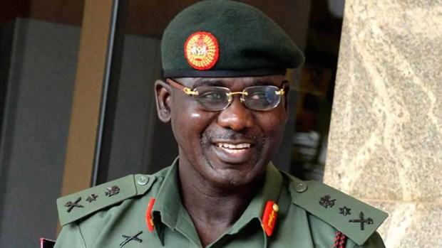Buratai, army, Nigeria