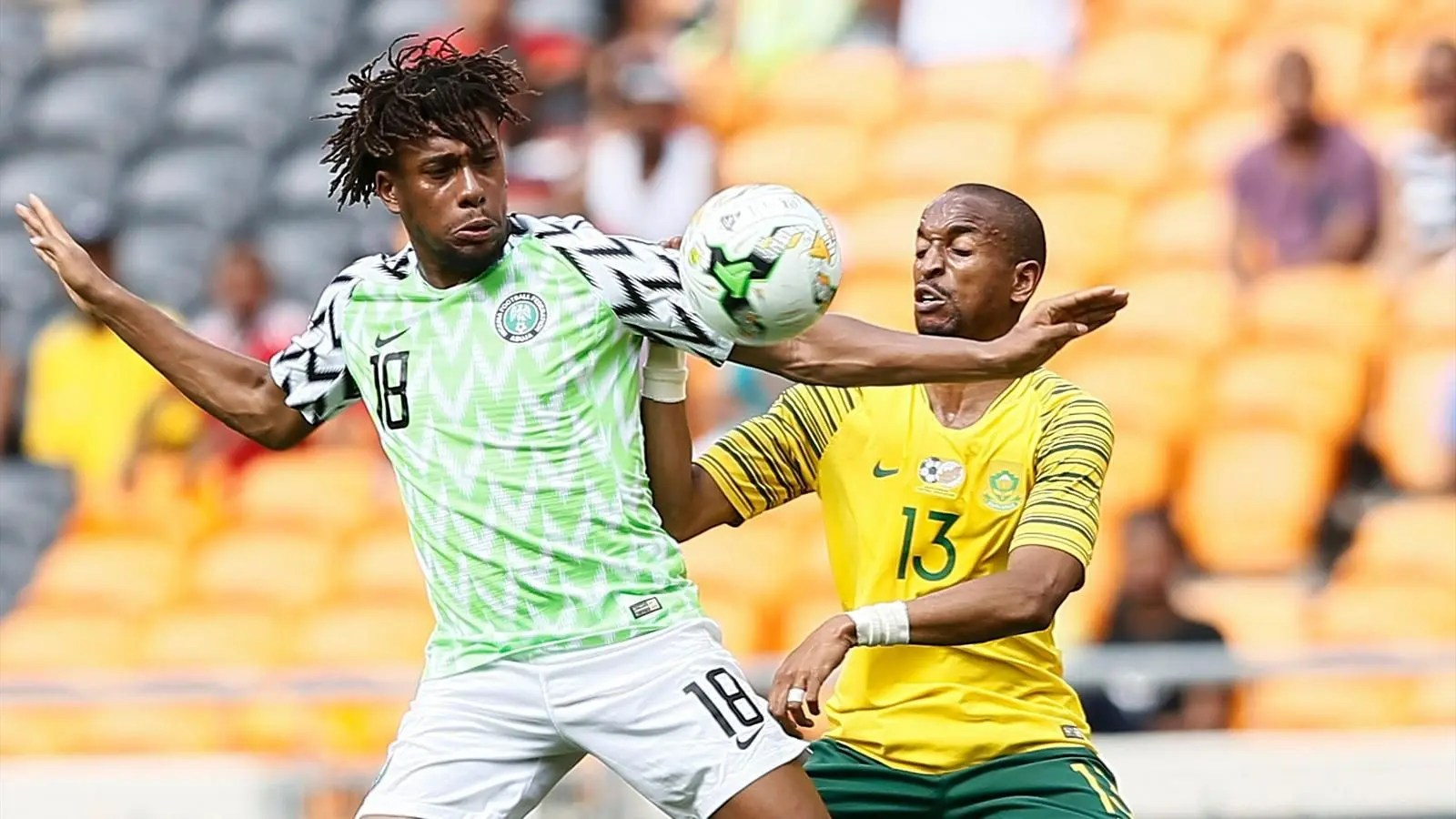 Nigeria Vs South Africa AFCON 2019 Head To Head