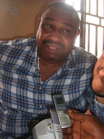 Harriman condoles with the Okotie-Ebohs.....................
