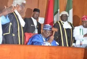 Buhari, Lawan, budget, ministers