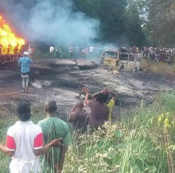 NEWS12 hours ago 50 Die, 70 Injured In Benue Tanker Explosion