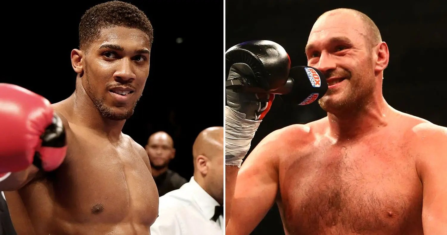 Tyson Fury ridicules Anthony Joshua