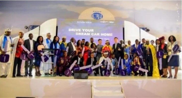 BF SUMA: Excitement as 17 Nigerians emerge winners of exotic cars in Abuja