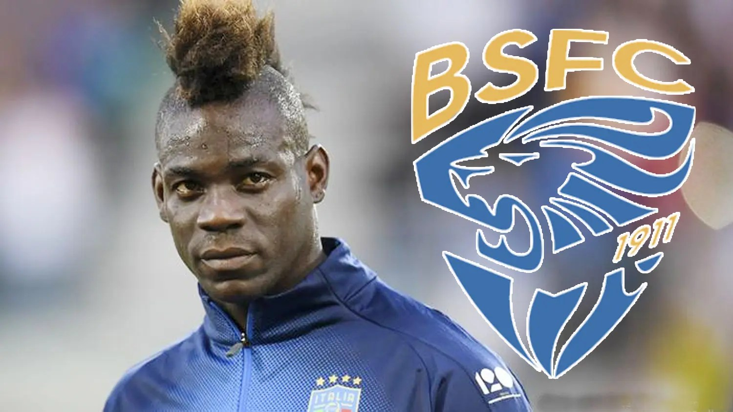 Mario Balotelli signs for Brescia
