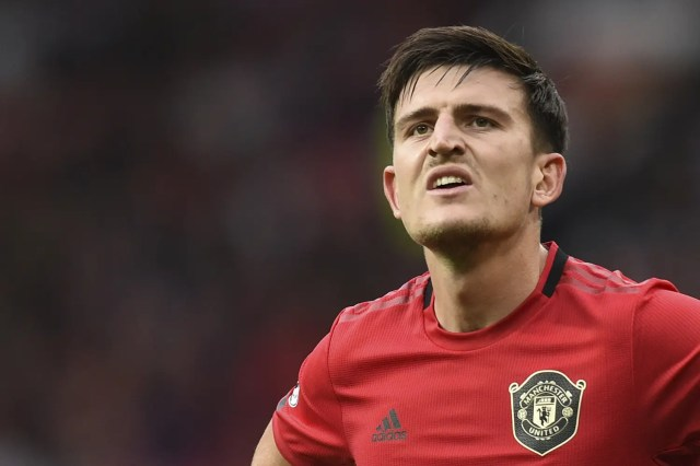 Maguire Man Utd Manchester United