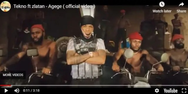 """Tekno releases music video, """"Agege,"""" showing 'lorry of 'half-naked' girls"""