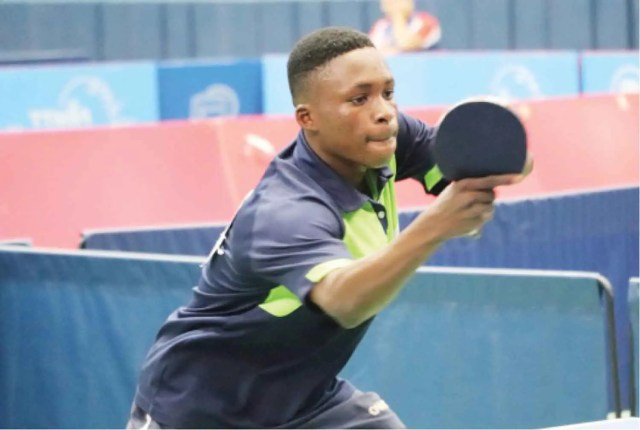 Usman Okanlawon, ITTF World Cadet Challenge
