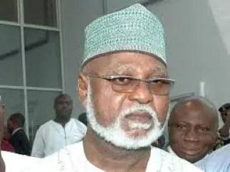 Gen. Abdulsalami Abubakar (retd)