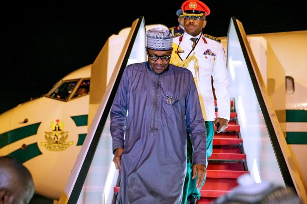 Buhari returns to Abuja after attending UN summit