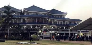 Mugabe's Blue Roof