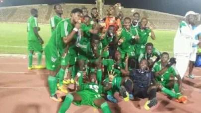 Nigeria Deaf Eagles that won the 4th West Africa Deaf Football Union