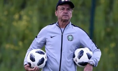 Nigeria vs Cameroon: Gernot Rohr will try new things, says Super Eagles' Media Officer