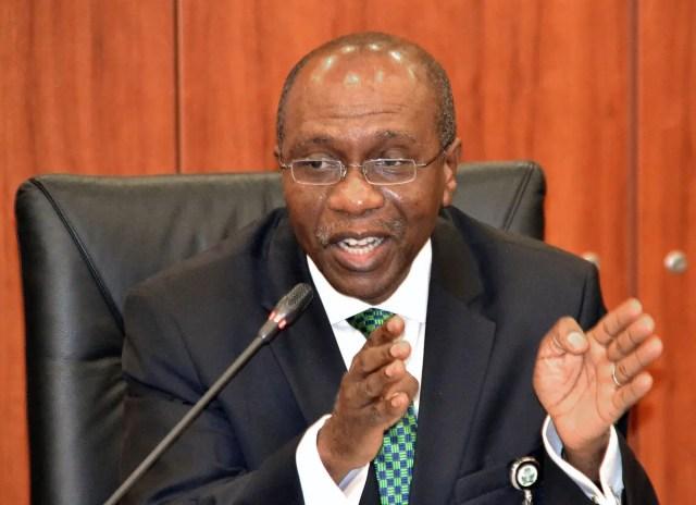 CBN Governor, Mr Godwin Emefiele, cashless policy
