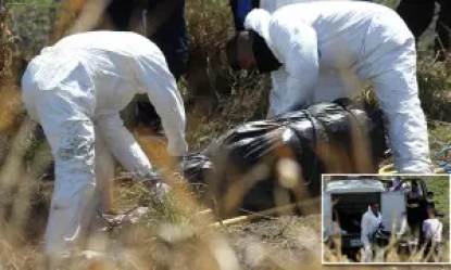 29 bodies found stuffed in 119 plastic bags in Mexico