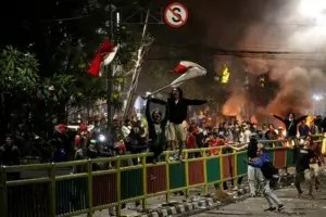 Second student dies after Indonesian protesters clash with police
