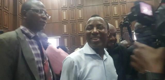 Nigerian govt arraigns Sowore in Federal High Court