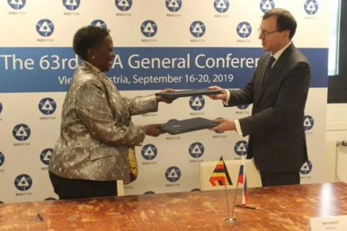 Uganda to partner Russia on Nuclear technology