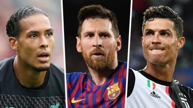 Van Dijk. Messi, Ronaldo
